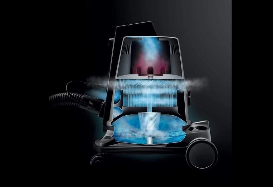 Una soluzione alla volta. L'aspirapolvere purificatore d'aria.